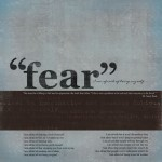 Fear challenge, Week One…