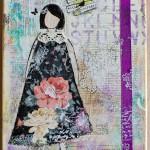 She Art girl No 1 – Courage