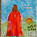 She Art girl no 3 – She is her own super-hero