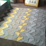 Grey and Yellow Quilt update…..