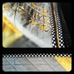 Grey and Yellow Chevron quilt Completed!!