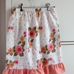 Easy skirts from vintage pillowcases