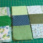 Spring quilt underway