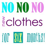 No new clothing pledge!