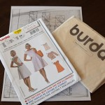 Burda 7798 Tunic conversion
