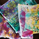 Some more Gelli Printing fun