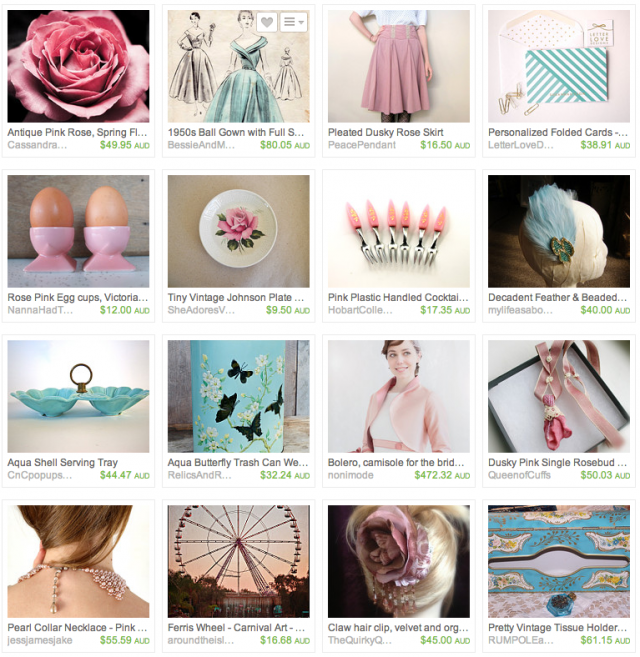 Vintage Rose Treasury