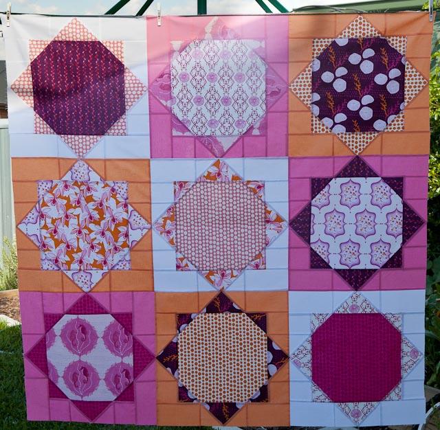 March retro quilt challenge