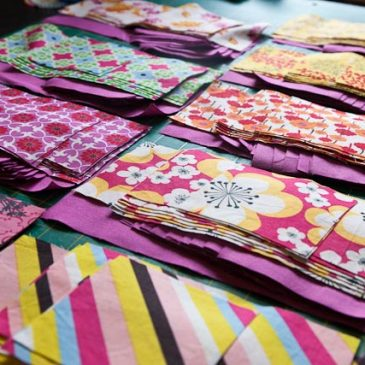 Simply Retro challenge – May quilt update one