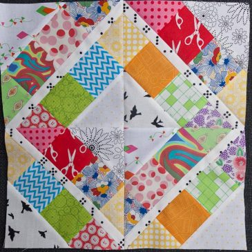 Aussie Modern Instabee blocks for May