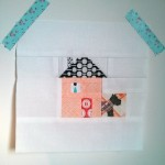 Patchwork House Block Chimney Tutorial