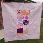 I love quilt backs…