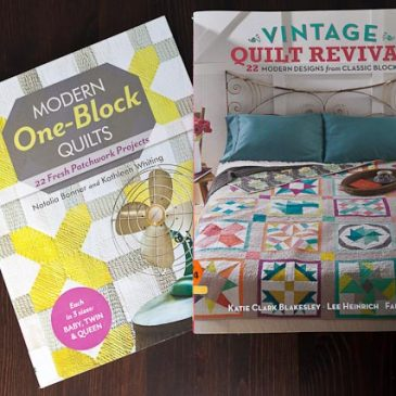 September quilting book reviews