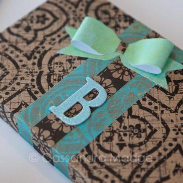Easy gift box idea