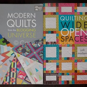 October quilting book reviews