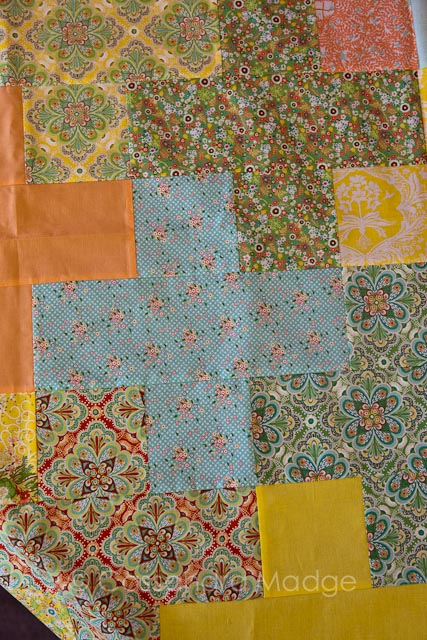 Plus quilt tutorial by Cassandra Madge