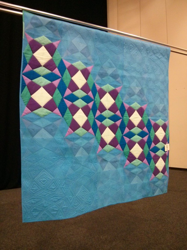 The Ballad of Lucy Jordan, amazing quilt by Angie Wilson (Gnomeangel)