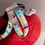Fun selvedge projects – strap tutorial