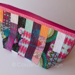 Another scrappy zipper pouch finished