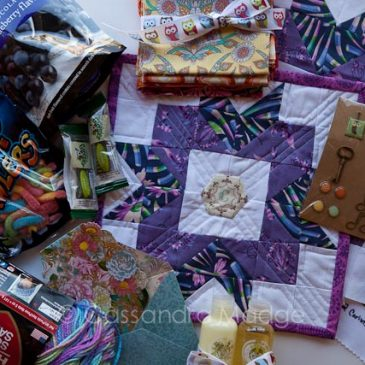 Quilty Sisters parcel from Brenda