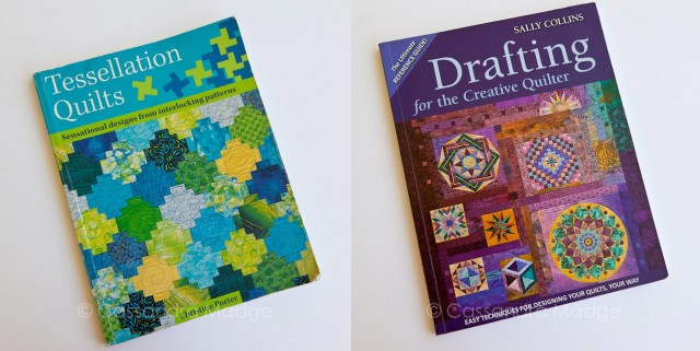 February Book Reviews - Tessellation Quilts : Drafting for the Creative Quilter