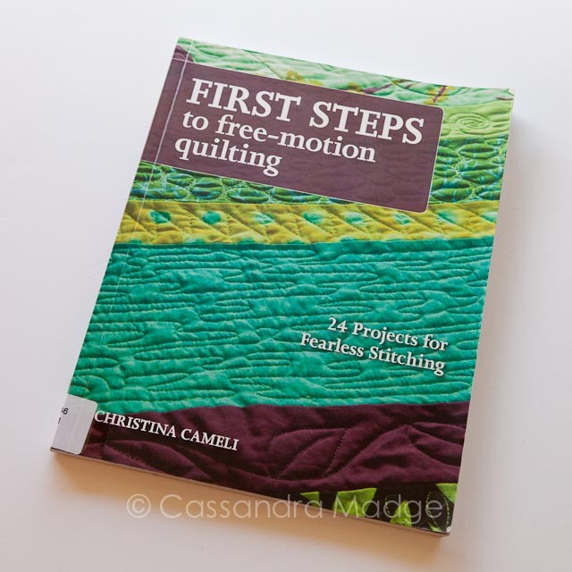 Book review - First Steps to Free-motion Quilting