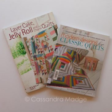 March quilting book reviews – Precuts and Modern designs