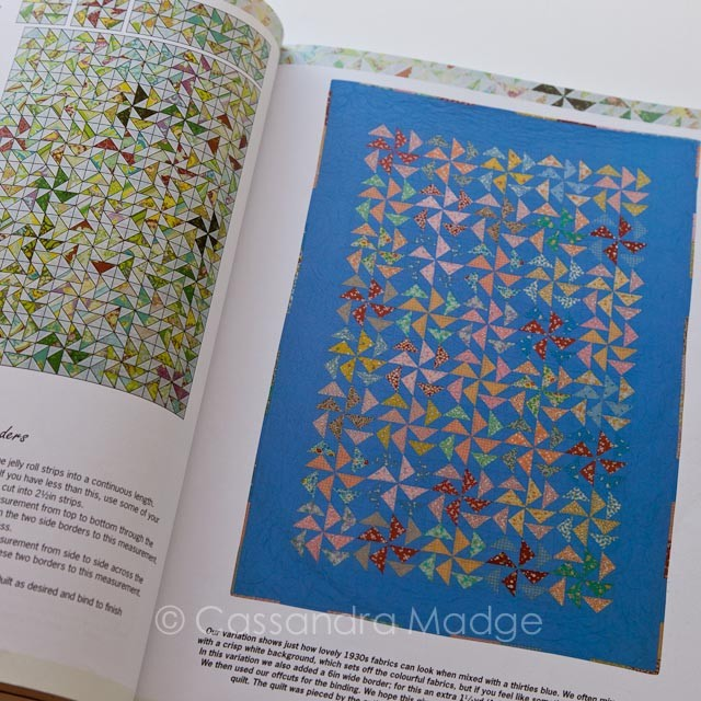 Book reviews - Layer Cake, Jelly Roll and Charm Quilts : Modern Designs for Classic Quilts