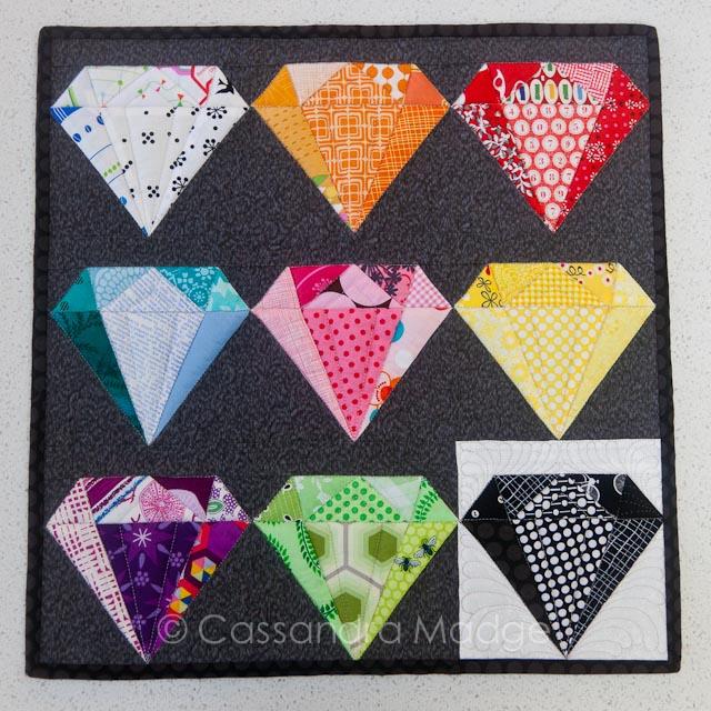 Gemstone Mini Quilt - Cassandra Madge
