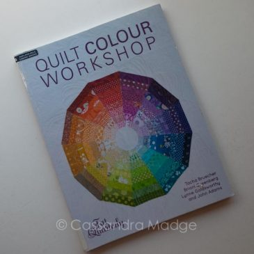 May quilting book review – Quilt Colour Workshop