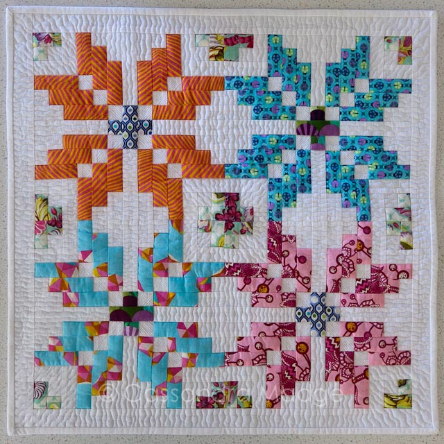 Tula Pink Norway Mini Quilt