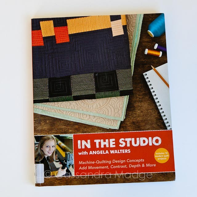 Book Review - In the Studio with Angela Walters