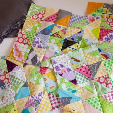 Scrap quilt therapy – Part 1