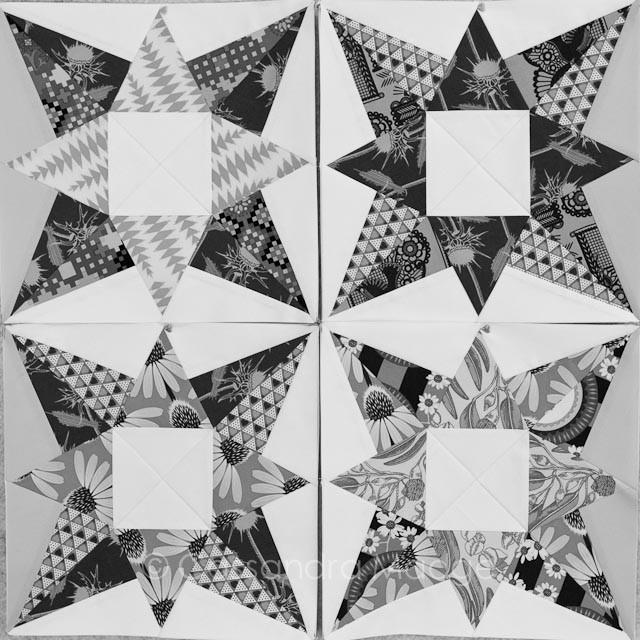 Potent Star quilt - Cassandra Madge