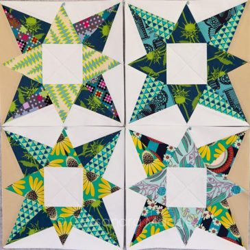 Potent Star Quilt – how VALUE makes your stars sparkle!