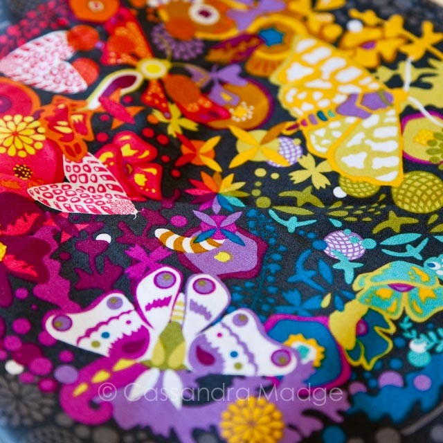 Quilting fabric from Hettie's Patch