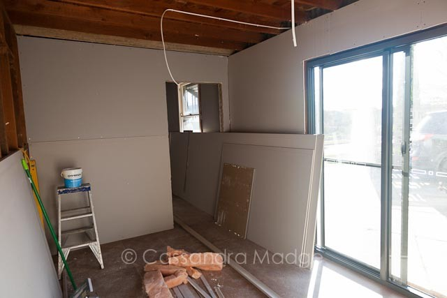Quilting studio renovation