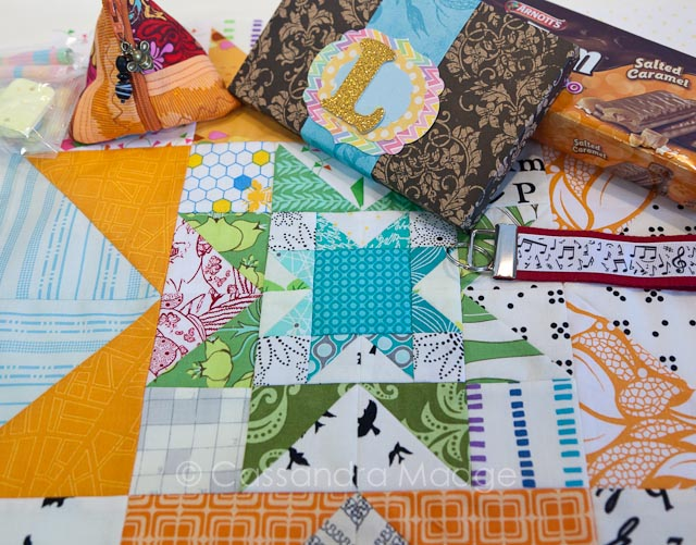 Quilty Sisters Bee - Cassandra Madge