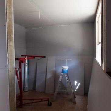 Quilting studio renovation – Week 5
