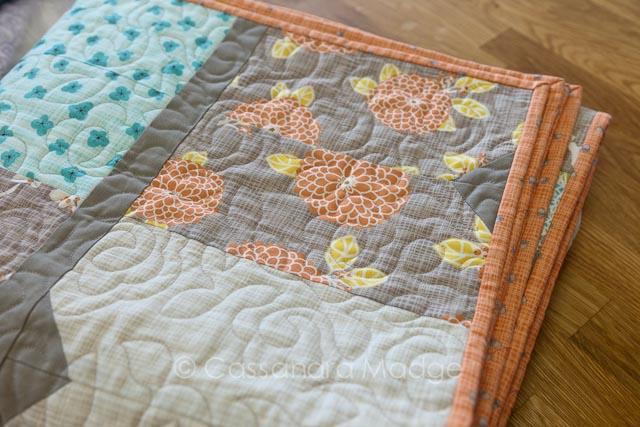 Bluebird Park quilt - Cassandra Madge