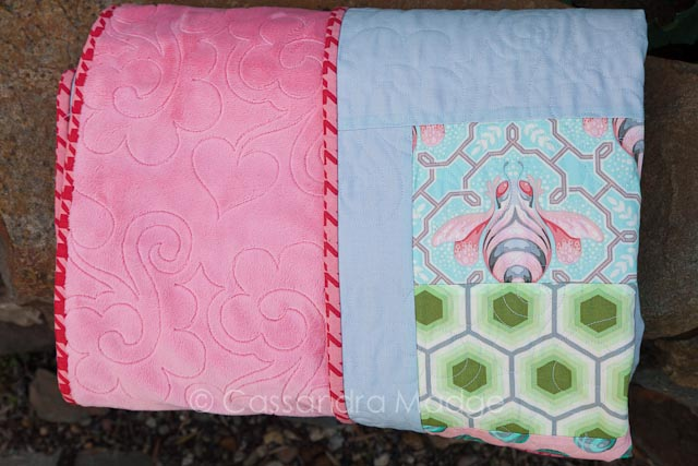 Baby bumble quilt - Cassandra Madge