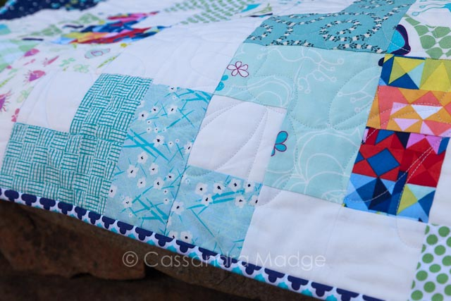Ocean Swell quilt - Cassandra Madge
