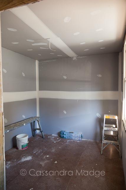 Quilting studio renovation