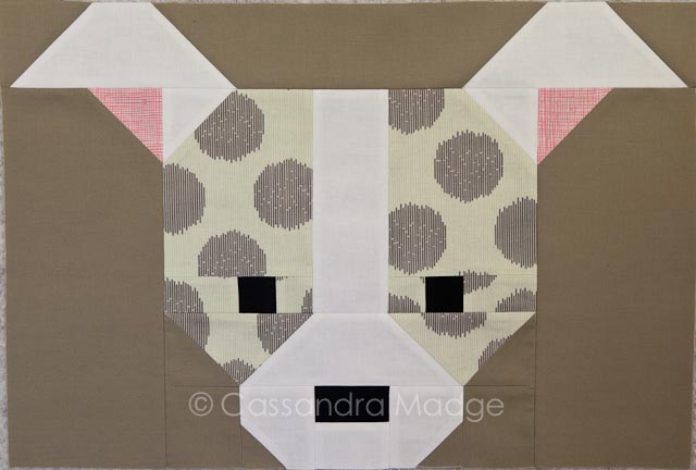 Moonshine Sew Fresh Quilts Dog Gone Cute Puppy 2