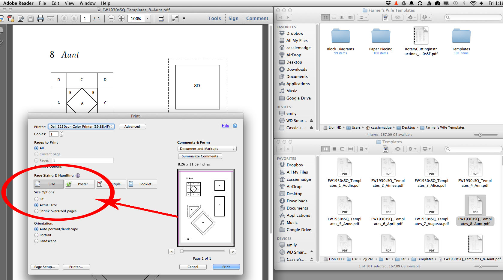 how to print pdf templates on your mac u2013 cassandra madge