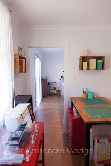 Quilting Studio Renovation - Cassandra Madge Juicy Quilting