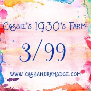 Farmer's Wife 1930's Cassandra Madge