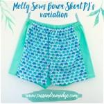 Melly Sews Boxer Short PJ's Variation