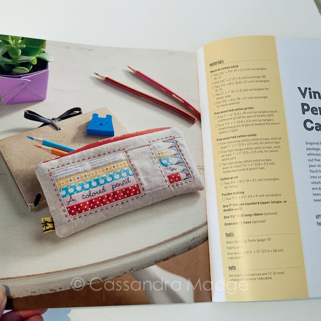 November quilting book review - Cassandra Madge