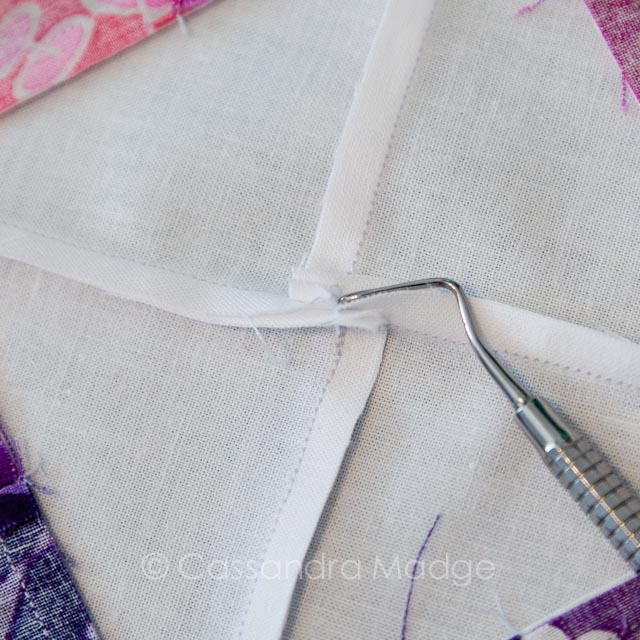 Simple Spinning Seams Tutorial - Cassandra Madge